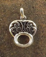 Celtic Style Pendant For 10x8 Cab
