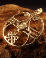 Silver Celtic Pendant To Fit A 6mm Cabochon