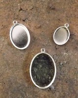 Silver Light Weight Pendants stampings