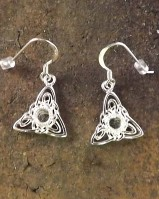 Celtic Drops For Fitting 4mm Cabochon