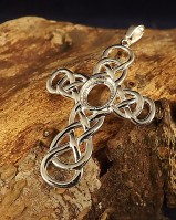 Unset Silver Cross 10x8 For Cabochons