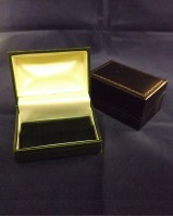 Leatherette Cufflink Case / Box
