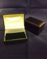 Leatherette Cufflink Case / Box