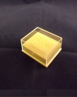 Plastic Clear Topped Earring Box {Inc Pads}