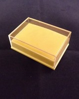 Clear Topped Pendant Box {inc pads}
