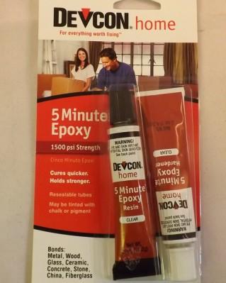 Epoxy Glue Devcon 5