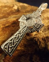 Silver Celtic Cross To Fit A 6mm Cabochon