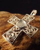 Celtic Cross Mount For Resin Or 6mm Cab
