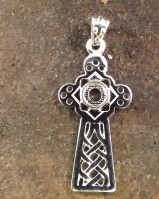 Unset Celtic Cross Blank for 5mm