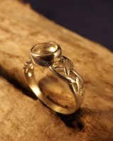 Celtic Ring Finding For 6mm Stone