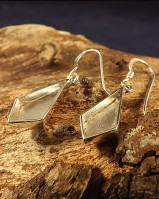 Set Your Own Stones Fancy Silver Kite Eardrops