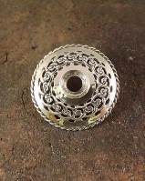 Sheild Brooch For Setting 8mm Stone