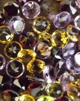 4mm Round Faceted Gemstones