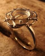 Silver Ring Mounts