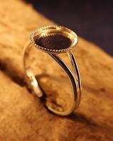 Silver Adjustable Rings