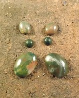 Blood Stone Cabochons