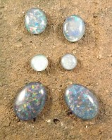 Opal Triplet Cabochons