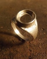 Ladies 10x8 Signet Ring Setting
