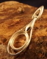 Silver Pendant For 14x10 Cabochon