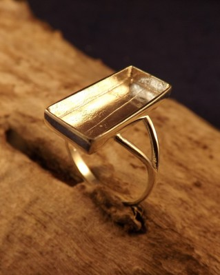 Silver Ring Mount Approx 20x8 Stone Or Resin