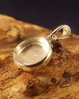 10mm Round Pendant Mount Perfect For Resin