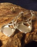 Celtic Drop Earrings For 14x10 Cabochon