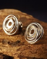 Silver Studs To Fit 6mm Cabochons