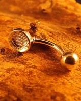 Belly Button Bar For 6mm