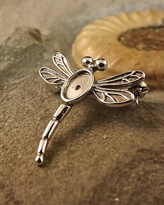 Dragonfly Brooch For 7x5