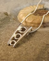 Stunning Silver Pendant To fit 4 -5 -6 mm stone
