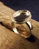 Solid Back Rope Ring Approx 14x10
