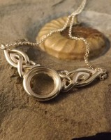 SILVER PENDANT FOR 12MM