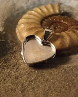 Solid Back Heart Locket