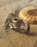 Two Stone Adjustable Ring