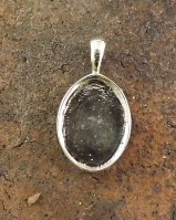 Plain Pendant Setting For 18x13 Cabochon