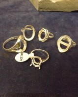 ASSORTED RING SETTINGS