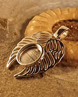 Angel Wings Pendant Suitable For Resin Ashes Memorial pendant