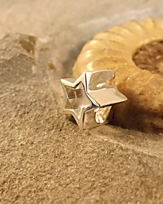 Star Charm Suitable For Bracelets Or Bangles