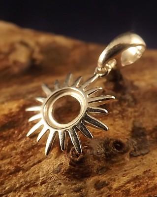 6mm Sunburst Pendant