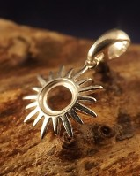 6mm Sunburst Pendant