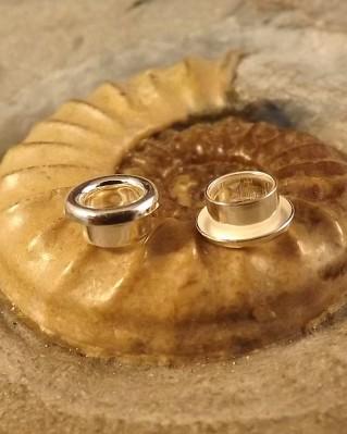 Bangle Bead Centre Cores Solid Silver